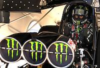 Jan 21, 2007; Las Vegas, NV, USA; NHRA Funny Car driver Kenny Bernstein during preseason testing at The Strip at Las Vegas Motor Speedway in Las Vegas, NV. Mandatory Credit: Mark J. Rebilas