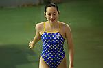 Yuka Mabuchi,<br /> SEPTEMBER 18, 2015 - Diving : <br /> All Japan Diving Championship 2015<br /> Women's 3m Springboard Final<br /> at Tatsumi International Swimming Center, Tokyo, Japan.<br /> (Photo by Shingo Ito/AFLO SPORT)