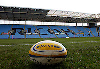 Photo: Richard Lane/Richard Lane Photography. Wasps Open Training Session at the Ricoh Arena ahead of their first game at the stadium. 16/12/2014. Ricoh Arena.