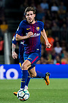 Sergi Roberto Carnicer of FC Barcelona in action during the La Liga 2017-18 match between FC Barcelona and Malaga CF at Camp Nou on 21 October 2017 in Barcelona, Spain. Photo by Vicens Gimenez / Power Sport Images