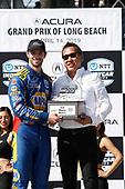 Alexander Rossi, Andretti Autosport Honda, podium, Jon Ikeda, Acura VP