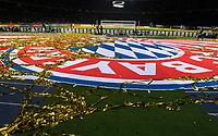 19.05.2018, Football DFB-Pokal Finale 2018, FC Bayern Muenchen - Eintracht Frankfurt, Olympiastadium in Berlin.  logo, lametta, konfetti *** Local Caption *** © pixathlon<br /> <br /> Contact: +49-40-22 63 02 60 , info@pixathlon.de