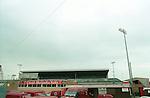 Gresty Road home of Crewe Alexandra football club, 2002. Photo by Tony Davis