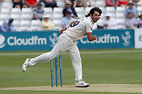 Shane Snater in bowling action for Essex during Essex CCC vs Nottinghamshire CCC, LV Insurance County Championship Group 1 Cricket at The Cloudfm County Ground on 3rd June 2021
