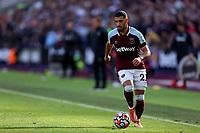 3rd October 2021;   City of London Stadium, London, England; EPL Premier League football, West Ham versus Brentford; Saïd Benrahma of West Ham United