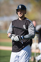 Chicago White Sox first baseman Matt Skole (89) during Spring Training Camp on February 25, 2018 at Camelback Ranch in Glendale, Arizona. (Zachary Lucy/Four Seam Images)