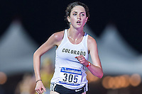Abby Levene of Colorado competes in 10000 meter semifinal during West Preliminary Track & Field Championships at John McDonnell Field, Thursday, May 29, 2014 in Fayetteville, Ark. (Mo Khursheed/TFV Media via AP Images)