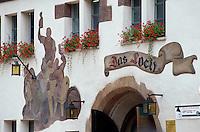 Deutschland, Thüringen, Gaststätte Das Loch in Saalfeld