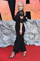 "Jorgie Porter<br /> arriving for the ""Rampage"" premiere at the Cineworld Empire Leicester Square, London<br /> <br /> ©Ash Knotek  D3395  11/04/2018"