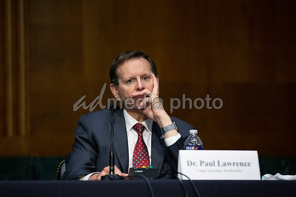 Dr. Paul Lawrence, Under Secretary for Benefits, testifies before the United States Senate Committee on Veteran's Affairs on Capitol Hill in Washington D.C., U.S., on Wednesday, June 3, 2020.  Credit: Stefani Reynolds / CNP/AdMedia
