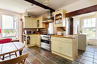 BNPS.co.uk (01202 558833)<br /> Pic: HamptonsInternational/BNPS<br /> <br /> A stylish country apartment inside the former home of the Queen mother and her brother has emerged for sale for nearly £500,000.<br /> <br /> Olive House near Uckfield, East Sussex, was home to Fergus Bowes Lyon - the queen's uncle - in the early 20th century.<br /> <br /> At the outbreak of WWI, his younger sister, then aged just 14, came to live with him after her family home became a hospital.