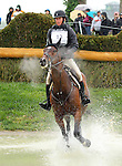 April 25, 2015:  #13 Parker and James Alliston on the Cross Country course during the Rolex Three Day Event at the Kentucky Horse Park in Lexington, KY.  Candice Chavez/ESW/CSM