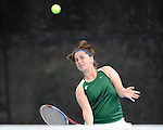 Tulane battles LSU in women's tennis at the Goldring Tennis Center on the campus of Tulane University.  LSU went on to win the match, 4-3.