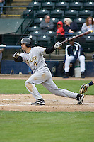 June 1, 2008: Salt Lake Bees' Gary Patchett at-bat against the Tacoma Rainiers at Cheney Stadium in Tacoma, Washington.