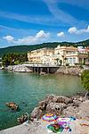 Croatia, Kvarner Gulf, Opatija: villas and hotels alongside Opatija Riviera, the 4-stars-Hotel 'Kvarner' | Kroatien, Kvarner Bucht, Opatija: Villen und Hotels entlang der Opatija Riviera, hier das Hotel 'Kvarner', ein 4-Sterne-Hotel
