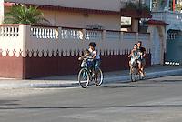 Cuba, Fahrräder in Cardenas, Provinz Mantanzas