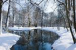 Deutschland, Bayern, Muenchen: Winter im Englischen Garten | Germany, Bavaria, Munich: winter at the English Garden