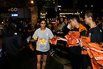 After-Race at the Bloomberg Square Mile Relay along Edinburgh Place in the city's central district on 10 November 2016 in Hong Kong, China. Photo by Marcio Machado / Power Sport Images