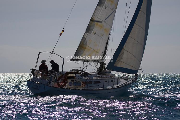Esp 8244  .Pinta III  .Ricardo Ramirez  .Francisco Pascual  .CN Javea  .Islander 36 XXII Trofeo 200 millas a dos - Club Náutico de Altea - Alicante - Spain - 22/2/2008