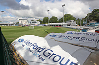 General view of the ground ahead of Essex CCC vs Kent CCC, Specsavers County Championship Division 1 Cricket at The Cloudfm County Ground on 28th May 2019