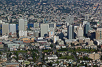 aerial photograph Oakland, California