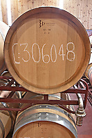 barrel aging cellar bodegas frutos villar , cigales spain castile and leon