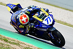 WorldSBK supported test SSP600  day 2 at Circuit de Barcelona-Catalunya, picture show D. Aegerter riding Yamaha YFZ R6 from Ten Kate Racing Yamaha