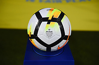 Cincinnati, OH - Tuesday September 19, 2017: NIKE game ball during an International friendly match between the women's National teams of the United States (USA) and New Zealand (NZL) at Nippert Stadium.