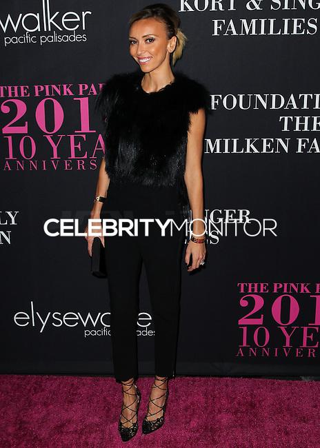 SANTA MONICA, CA, USA - OCTOBER 18: Giuliana Rancic arrives at Elyse Walker's 10th Annual Pink Party held at Santa Monica Airport HANGAR:8 on October 18, 2014 in Santa Monica, California, United States. (Photo by Celebrity Monitor)