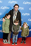 """Carlos Santos attends to the premiere of the film """"¡Canta!"""" at Cines Capitol in Madrid, Spain. December 18, 2016. (ALTERPHOTOS/BorjaB.Hojas)"""