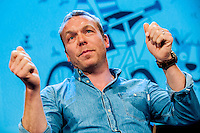 Tuesday  31 May 2016<br /> Pictured:  Chris Hoy<br /> Re: The 2016 Hay festival take place at Hay on Wye, Powys, Wales