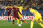 Kevin Strootman of AS Roma fights for the ball during the match Villarreal CF vs AS Roma during their UEFA Europa League 2016-17 Round of 32 match at the Estadio de la Cerámica on 16 February 2017 in Villarreal, Spain. Photo by Maria Jose Segovia Carmona / Power Sport Images