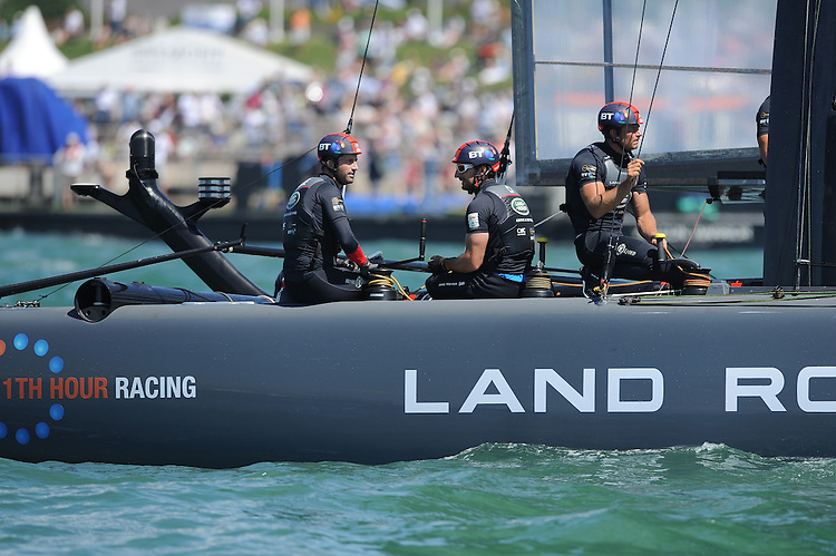 Sir Ben Ainslie, JULY 23, 2016 - Sailing: Sir Ben Ainslie (GBR) Land Rover BAR team principal and skipper relaxes between races during day one of the Louis Vuitton America's Cup World Series racing, Portsmouth, United Kingdom. (Photo by Rob Munro/Stewart Communications)