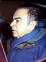 Carlos Ghosn is seen at his residence