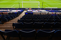 17th October 2020; Kenilworth Road, Luton, Bedfordshire, England; English Football League Championship Football, Luton Town versus Stoke City; Empty seats due to the pandemic at Kenilworth stadium