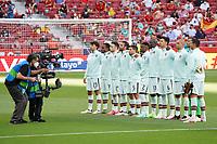 4th June 2021; Madrid, Spain International football friendly, Spain versus Portugal,  played at Wanda Metropolitano Stadium on June 4, 2021  The Portugal line up