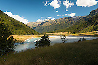 Matukituki River at Shovel Flat, Mt. Aspiring National Park, Central Otago, World Heritage Area, South Island, New Zealand