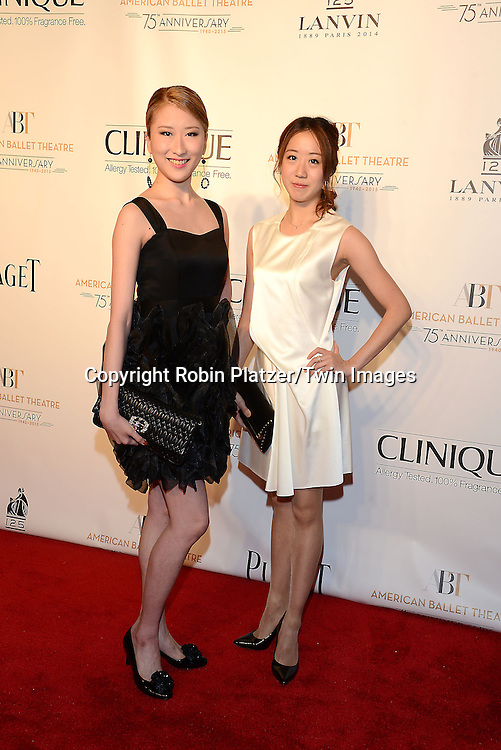 attends the Opening Night of American Ballet Theatre 2014 Fall Gala on October 22,2014 at the David Koch Theater at Lincoln Center in New York City. <br /> <br /> photo by Robin Platzer/Twin Images<br />  <br /> phone number 212-935-0770