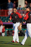 Erie SeaWolves Isaac Paredes (18) during an Eastern League game against the Altoona Curve on June 3, 2019 at UPMC Park in Erie, Pennsylvania.  Altoona defeated Erie 9-8.  (Mike Janes/Four Seam Images)