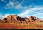Rain God Mesa, Monument Valley Navajo Tribal Park, Navajo Nation Reservation, Utah/Arizona Border