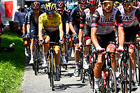 10th July 2021; Carcassonne, France; POGACAR Tadej (SLO) of UAE TEAM EMIRATES during stage 14 of the 108th edition of the 2021 Tour de France cycling race, a stage of 183,7 kms between Carcassonne and Quillan