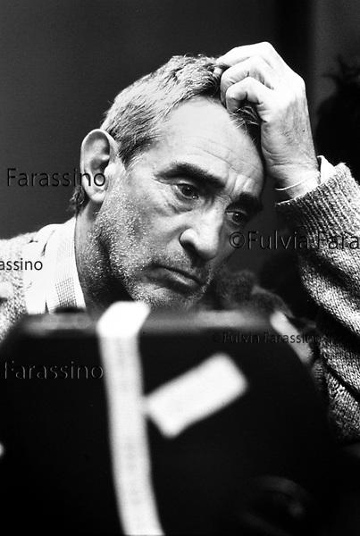 Walter Chiari, 1986 Sul set del film Romance regia  di Massimo mazzucco