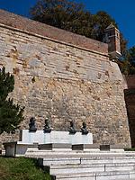 Volkshelden Gedenkstätte in der Festung,  Belgrad, Serbien,  Europa<br /> Memorial Heroes of the people in the fortress Kalemegdan,  Belgrade, Serbia, Europe