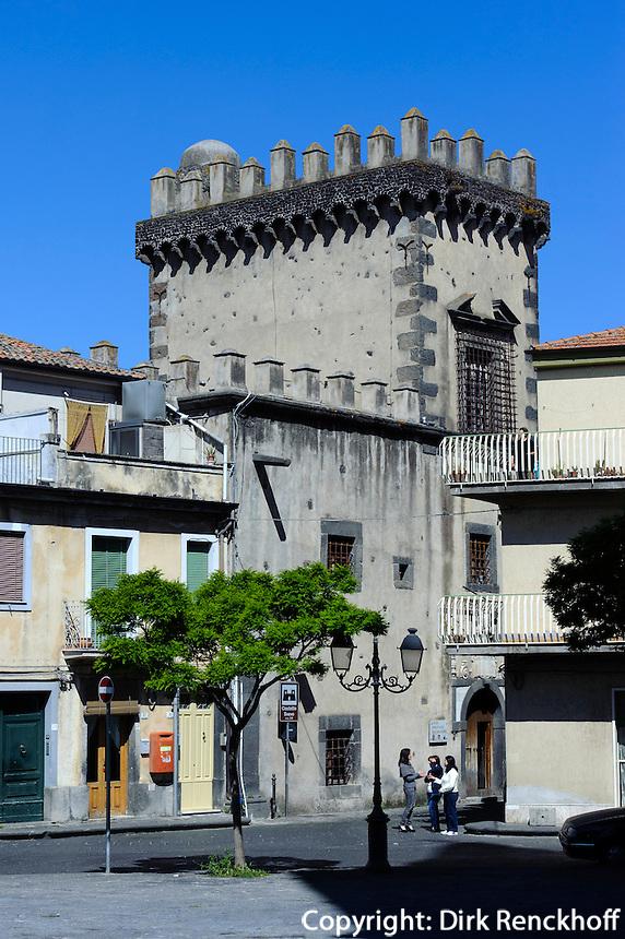 Castello in Randazzo, Sizilien, Italien