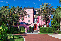 Beach house located on Barefoot Beach Road, Bonita Springs, Florida, USA.