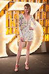 Spanish model Nieves Alvarez poses during Licor 43 presentation in Madrid, Spain. January 29, 2015. (ALTERPHOTOS/Victor Blanco)