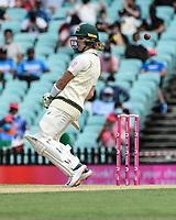 7th January 2021; Sydney Cricket Ground, Sydney, New South Wales, Australia; International Test Cricket, Third Test Day One, Australia versus India; Will Pucovski of Australia dodges a bouncer