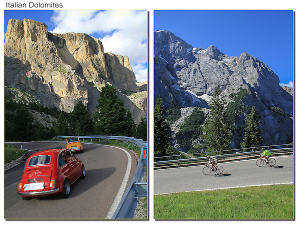 Italy, Dolomites.  Italian Icons. <br />