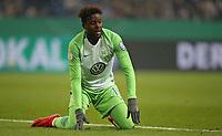 07.02.2018, Football DFB Pokal 2017/2018,   FC Schalke 04 - VfL Wolfsburg, in VELTINS-Arena Gelsenkirchen. Divock Origi (Wolfsburg) dejected  *** Local Caption *** © pixathlon<br /> <br /> +++ NED out !!! +++<br /> Contact: +49-40-22 63 02 60 , info@pixathlon.de