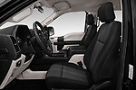 Front seat view of 2018 Ford F-150 XL-SuperCrew 4 Door Pickup Front Seat  car photos